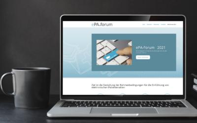 Neu-Auflage des ePA-Forums ab 2021