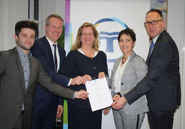Vier neue Klinikverbünde für die elektronische Gesundheitsakte TK-Safe